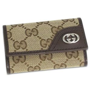 Gucci (グッチ) 181680 FAFXN 9569 キーケース BE/DB
