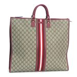 Gucci (グッチ) 201445 FCIXG 8557 トート BE/RD(税込: 82,173円)