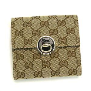Gucci (グッチ) 203566 FTAJX 9769 Wホック BE/BK
