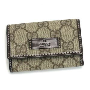 Gucci (グッチ) 203574 FP1KG 8552 キーケース BE/BR