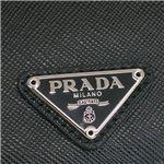 Prada (プラダ) 1M0504 SAFF ORO NERO 1メイシイレ BK
