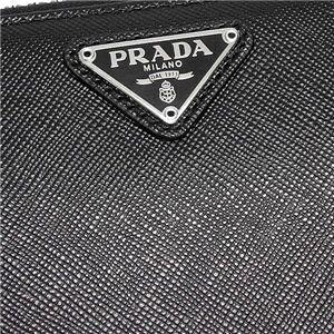 Prada (プラダ) 1M0506 SAFF ORO NERO 1ナガサツ BK