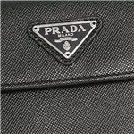Prada (プラダ) 1M0510A SAFF ORO NERO 12ツオリコBK