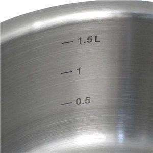 Alessi (アレッシィ) AJM105/18 ソースパン 18cm 片手