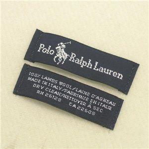 Ralph Lauren ポニー刺繍 カラーマフラー 605855 Ivory