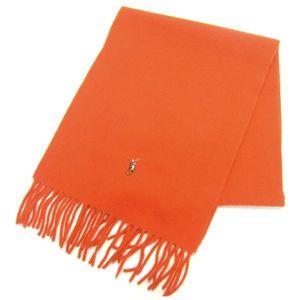 Ralph Lauren ポニー刺繍 カラーマフラー 605855 Orange