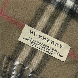 BURBERRY(バーバリー)  マフラー CHECK SCARF 94267 BR 2040