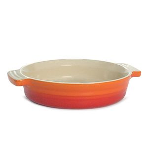 Le Creuset(ル・クルーゼ) ラウンドデッシュ 21cm OR