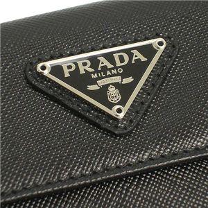 PRADA(プラダ) 1M0523 SAFFIANO ORO2ツオリコゼニ BK