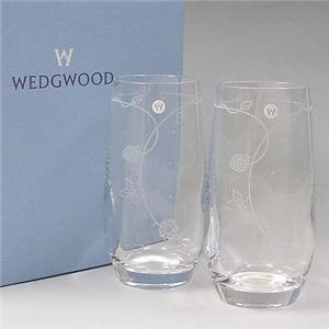 Wedgwood(ウェッジウッド) ワイルドストロベリー クリスタルタンブラーペア 1801