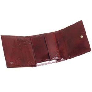 01Cartier/カルティエ 三つ折り財布(小銭入れ付) L3000720 ハッピーバースディ/ワイン