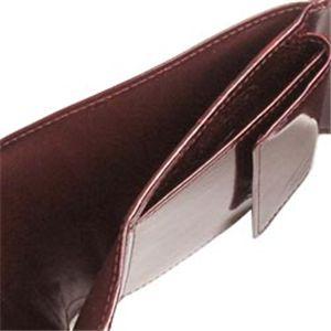 02Cartier/カルティエ 三つ折り財布(小銭入れ付) L3000720 ハッピーバースディ/ワイン