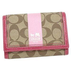 Coach(コーチ) 二つ折り財布(小銭入れ付) 40920 BKHPK ピンク