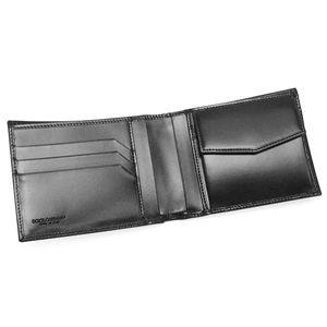 Dolce&Gabbana(ドルチェ&ガッバーナ) 二つ折り財布(小銭入れ付) BP0457 2ツオリコ BK 80999 ブラック