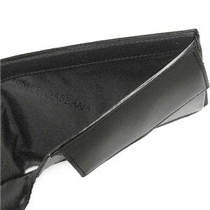 Dolce&Gabbana(ドルチェ&ガッバーナ) 二つ折り財布(小銭入れ付) BP0457 80999 ブラック