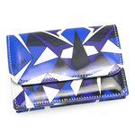 EMILIO PUCCI(エミリオ プッチ) カードケース 91SE02 91025 007 ブルー