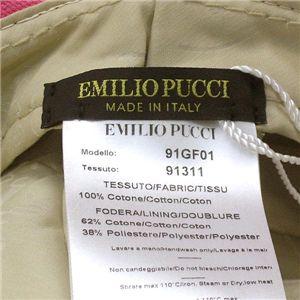 EMILIO PUCCI(エミリオプッチ) 帽子 91GF01 91311 HAT II PK 011 ピンク