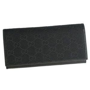GUCCI(グッチ) 二つ折り財布(小銭入れ付) 118377 FVE1R 1000 ブラック