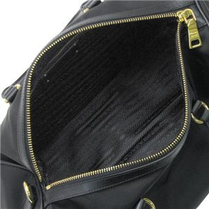 PRADA(プラダ) ハンドバッグ BL0575 TESS SAFFIANO H ブラック