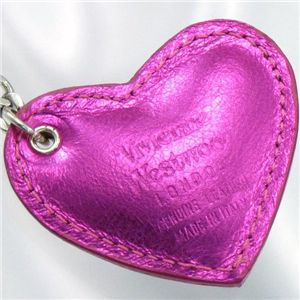 Vivienne Westwood(ヴィヴィアンウエストウッド) 携帯ストラップ 4532 PELLELAMINATA ピンク