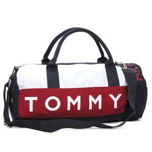 TOMMY HILFIGER(トミーヒルフィガー) ボストンバッグ 390532 HARB.POINT BT RDNV レッド/ネイビー