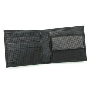 GUCCI(グッチ)二つ折り財布(小銭入れ付) 203621 BS00N 1000 ブラック