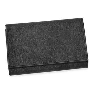 PRIMACLASSE(プリマクラッセ)二つ折り財布(小銭入れ付) BP251 ブラックのデザイン