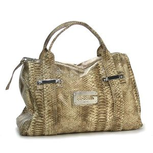 GUESS(ゲス)トートバッグ PY045704 ARM CANDY PYTHON ブラウン