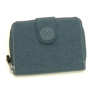 kipling(キプリング)二つ折り財布(小銭入れ付)K13891 514スモーキー ブルー