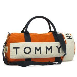 TOMMY HILFIGER(トミーヒルフィガー)ボストンバッグ390532オレンジ