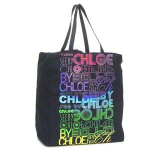 SEE BY CHLOE(シーバイクロエ)トートバッグ 2/9S71617013 ブラック