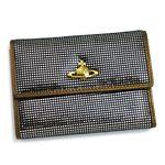 Vivienne Westwood(ヴィヴィアン ウエストウッド) 二つ折り財布(小銭入れ付) NEW SLOANE 738 シルバー