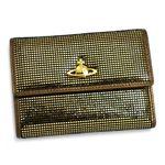 Vivienne Westwood(ヴィヴィアン ウエストウッド) 二つ折り財布(小銭入れ付) NEW SLOANE 738 ゴールド