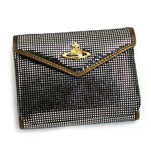 Vivienne Westwood(ヴィヴィアン ウエストウッド) 三つ折り財布(小銭入れ付) NEW SLOANE 4526 シルバー