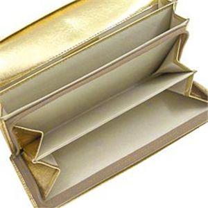 02ヴィヴィアン ウエストウッド/Vivienne Westwood 長札財布 NAPPA 1032/ゴールド