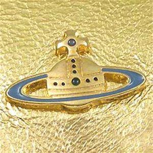 03ヴィヴィアン ウエストウッド/Vivienne Westwood 長札財布 NAPPA 1032/ゴールド