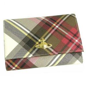 Vivienne Westwood(ヴィヴィアンウエストウッド) 二つ折り財布(小銭入れ付) DERBY 746 エキシビジョン