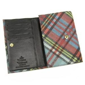 Vivienne Westwood(ヴィヴィアンウエストウッド) 二つ折り財布(小銭入れ付) DERBY 746 ブルー
