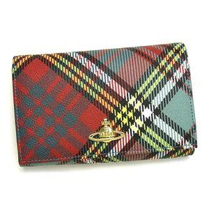 Vivienne Westwood(ヴィヴィアン ウエストウッド) 二つ折り財布(小銭入れ付) DERBY 2232 ブルー