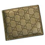 GUCCI(グッチ) 二つ折り財布(小銭入れ付) 146226 9640 グレイ