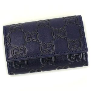 商品写真GUCCI|グッチ キーケース 138093 BASIC|KEY-CASE ブルー