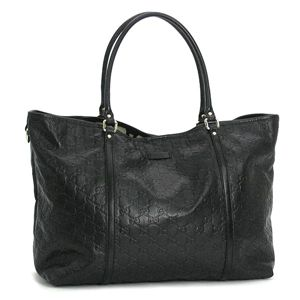 GUCCI(グッチ) トートバッグ 197954 TOTE DOUBLE SHOULD LARGE ブラック