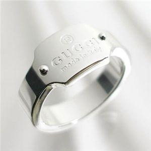指輪【GUCCI】グッチGUCCI(グッチ) リング 148306-J8400-8106 PUNCH TRADEMARK RING シルバー