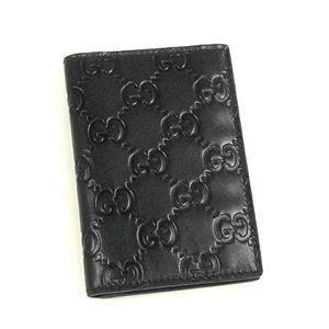 GUCCI(グッチ) 定期入れ 146231 TRAIN PASS CASE ブラック