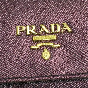 PRADA(プラダ) キーケース 1M0222 SAFFIANO METAL ORO ライトパープル