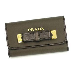 PRADA(プラダ) キーケース 1M0222 TES FIOCCO グレー
