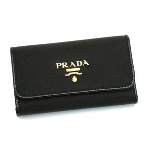 PRADA(プラダ) キーケース 1M0222 TES+SAF COLOR ブラック