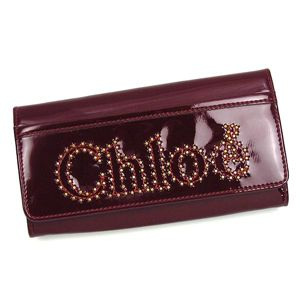 CHLOE(クロエ) 長財布 NOVA 3PO452 LONG WALLET WITH FLAP RUBY