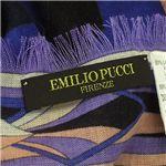 Emilio Pucci(エミリオプッチ) スカーフ 5740 パープル