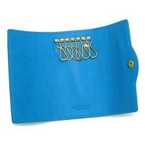 BOTTEGA VENETA(ボッテガヴェネタ) キーケース 176570 スカイ ブルー